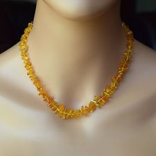 "Adult Amber Necklace,  Baltic Amber Adult Necklace 17"" . Jewelry for Womens ."