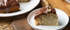 Κέικ φουντουκιού με γλάσο πραλίνας