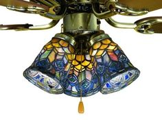 $359 Feather Peacock Tiffany Stained Glass Ceiling Fan 52 Inches Width Tiffany Street http://www.amazon.com/dp/B000YIVXZO/ref=cm_sw_r_pi_dp_eKZkub0PCZKQX