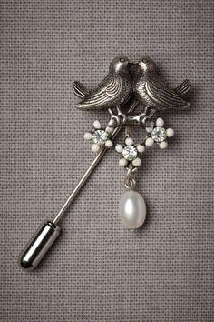bird pin brooch