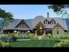 House Plan 16850WG coming to life in South Carolina! - photos of house plan 16850WG