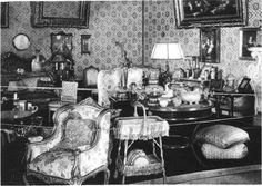 "Inside Anna ""Anya"" Alexandrovna Vyrubova's House at Tsarskoe Selo. ""AL"""