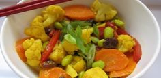 Incorporating fresh veggies into this Indian-inspired dish will make you want to bypass the local curry house. This quick creation is chalked full of protein, h