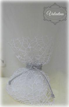 Μπουγκί Δείκτη-Λευκό με ασημένιο κορδόνι στο δέσιμο και Τούλι Λευκό!!! Christmas, Home Decor, Xmas, Decoration Home, Room Decor, Weihnachten, Navidad, Yule, Interior Design