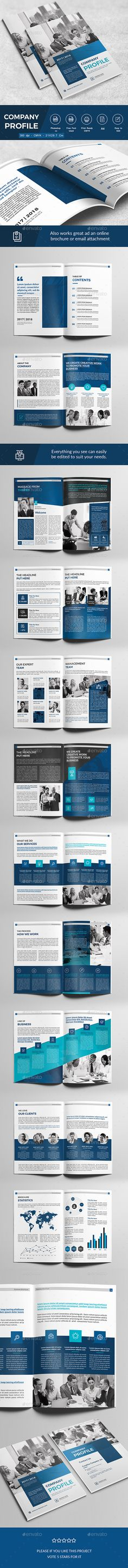 Company Profile Company profile, Corporate brochure and Brochure - business company profile template