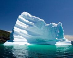 Sea Ice & Ice Berg are two different things.Sea ice forms a boundary between the relatively warm ocean and the cooler atmosphere. Icebergs are broken pieces of glaciers which originate from masses of snowfall on Newfoundland Icebergs, Iceberg Theory, Sea Ice, Sea Level Rise, Newfoundland And Labrador, Newfoundland Canada, Environmental Issues, Fire And Ice, Shades Of Blue