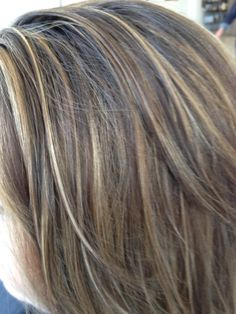Viewing Gallery For - Light Brown Hair With Blonde Highlights ... I want lighter brown than that