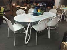 Nardi mobili ~ Nardi net chair in mustard with spritz side table nardi outdoor