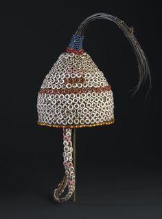 Brooklyn Museum: Arts of Africa: Bwami Hat for Kindi Level