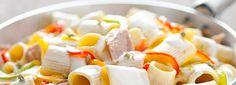 Pasta+fredda+con+tonno,+peperoni+e+philadelphia:+la+ricetta