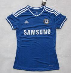 Camiseta futbol Chelsea Mujer 2013 2014  146  - €16.87   Camisetas de futbol  baratas online! f4e9651bdfb50