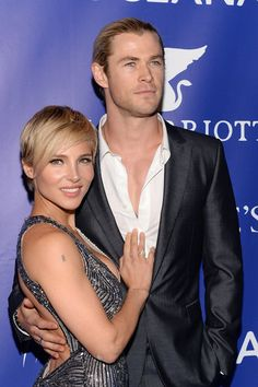 Chris Hemsworth and Elsa Pataky are flawless together!