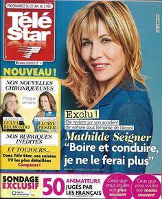 TELE STAR n°2156 27/01/2018 Mathilde Seigner/ Obispo/ Lorie/ Dalida/ Brad Pitt/ T.Silva