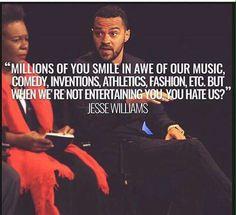 Yasssssssssss Say It Again For Those in the Back Jesse Williams #blm