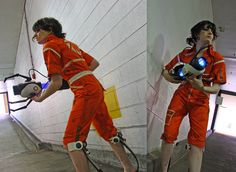 Portal: Chell by g0N3Morganna on DeviantArt