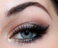 Fine makeup for grey-blue eyes :: one1lady.com :: #makeup #eyes #eyemakeup