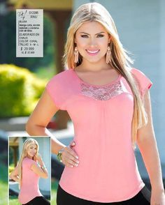 from Pdf ed 30 Pink Outfits, Trendy Outfits, Fashion Outfits, Blouse Styles, Blouse Designs, Beautiful Dress Designs, Casual Tops, Diy Clothes, Dress Patterns