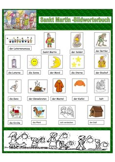Sankt Martin Hl Martin, Saint Martin, Kindergarten Portfolio, Grande Section, Cycle 2, Haunted Dolls, German Words, Learn German, Language