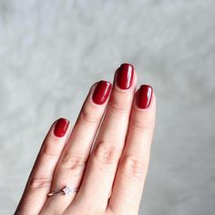 Red. Vibrant, glamorous, exquisite. @anaritaod this Gel Polish Shade 283 is just perfect!  #AndreiaProfessional #GelPolish #NailPolishAddict