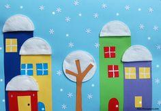 Paesaggio con i dischetti di cotone www.maestraagnese.com