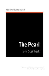 The Pearl by John Steinbeck. can someone please help me?