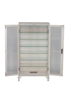 Vintage Industrial Storage Cabinet image 2