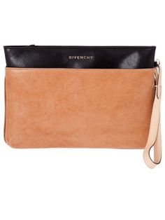 givenchy two-tone clutch