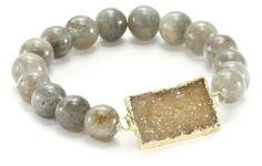 Mickey Lynn Jewelry 10mm Labradorite with Druzy Stretch Bracelet Mickey Lynn Jewelry,http://www.amazon.com/dp/B008KKMGUO/ref=cm_sw_r_pi_dp_A.QDsb0AVA9HPM42