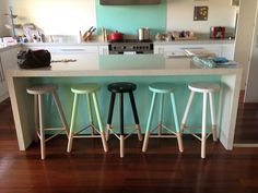 Green Cathedral Babanees stools - black, pepper, white