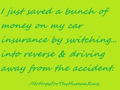 another idea to save on your car insurance.