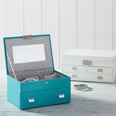 Classic Leather Jewelry Box