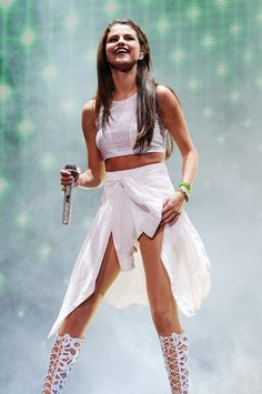selena gomez stage - Google Search