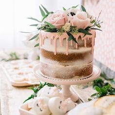 Drip cakes are just ���� | �� : @boho1 #weddingblog #bride #brides #bridetobe #bridetobe2017 #engagedlife #engaged #instabride #instawedding #realwedding #weddinginspo #modernwedding #wedding #weddings #weddingplanner #weddinginspiration #weddingideas #weddingblog #weddingblogger #weddingstyle #weddingcakes http://gelinshop.com/ipost/1518207598218107540/?code=BURwcRLFtqU