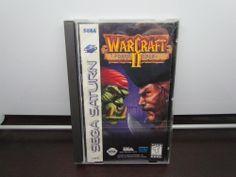 WarCraft II: The Dark Saga  (Sega Saturn, 1997) Complete, Working, Excellent