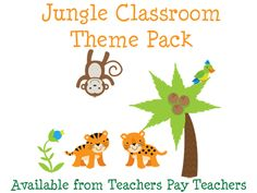 Tons of free printables (not just jungle)!
