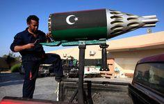 DIY Weapons of the Libyan Rebels - The Atlantic