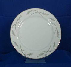 Mikasa Grace-Ine Pattern 8203 Dinner Plate White #Mikasa