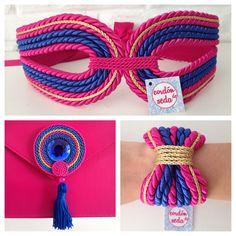 collar de cordon de seda - Buscar con Google