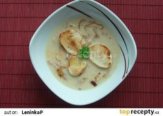 Krémová cibulačka recept - TopRecepty.cz Hummus, Ethnic Recipes, Food, Eten, Meals, Diet