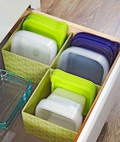 DIY Kitchen Storage and Organization Ideas (20) #organizationideas