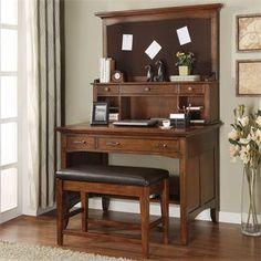 Oakton Village Project Desk & Hutch | Riverside Furniture