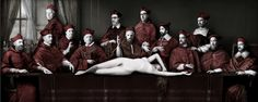 Dutch Last Supper (image 2) by Sabine Pigalle