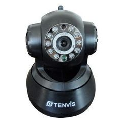 """Tenvis JPT3815W CMOS Wifi 2 Way Audio 11 LED Night Vision Ip Camera by Tenvis. $47.00. We promise: We are TENVIS Authorized Distributor and Retailer. All of our TENVIS products are authentic.   Specifications:  *Image sensor: 1/4 Color CMOS  Lens: 3.6MM   Infrared LED: 10 PCS  ø5  Pixel"""" 300,000  *Night vision Distance: 12  *AWS/AGC/AES/ exposure: Auto  *Min. Illumine: 0.1Lux   Audio Audio: 2- way audio  Input: Built-in Microphone  Output: Built-in Speaker   Video:..."""