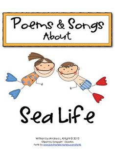 Sea Life Poems & Songs  $