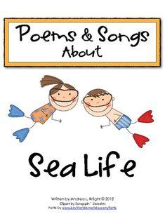 Sea Life Poems & Songs  $