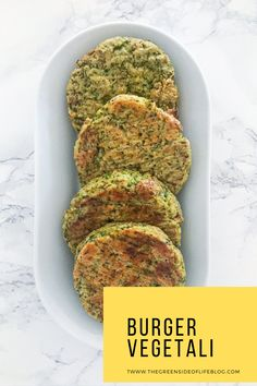 3 ricette per 3 burger vegetali velocissimi da preparare in casa e perfetti anche per chi altrimenti non ama le verdure Ratatouille, 3, Banana Bread, Ethnic Recipes, Desserts, Food, Tailgate Desserts, Deserts, Essen