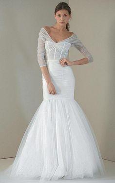 Vestidos de noiva com manga