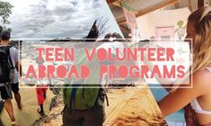 Discover how to volunteer abroad for free with a collection of the best tips from International Volunteer HQ and IVHQ volunteers. Teen Volunteer, Volunteer Work, Volunteer Abroad Programs, Gap Year, Where To Go, Places To Go, How To Plan, Learning, World