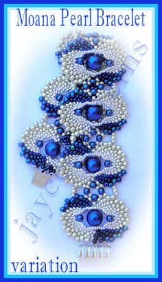 Make a beautiful piece of jewelry for yourself or someone special..  This bracelet is created in circular peyote - you will make individual motifs