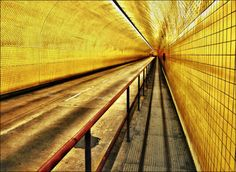 Yellow Tunnel  by T. Malachi Dunworth  on 500px